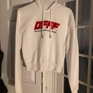 Off- White womens hoodie